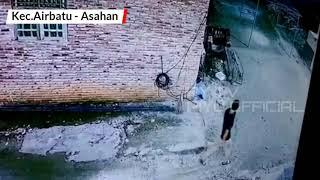 Terekam CCTV Pencurian Kotak Infak Masjid