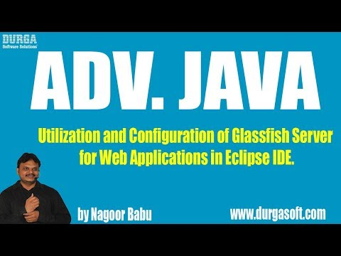 Utilization And Configuration Of Glassfish Server For Web Applications In Eclipse IDE.