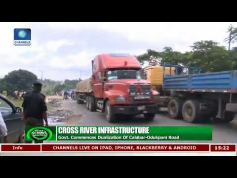 Cross River Govt Begins Dualisation Of Calabar-Odukpani Road |News Across Nigeria|