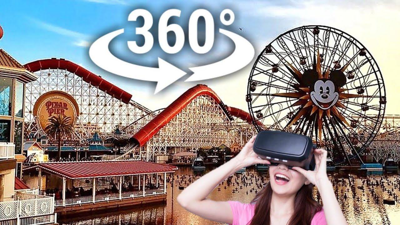 IncrediCoaster Ride VR 360 Video (Virtual Reality)