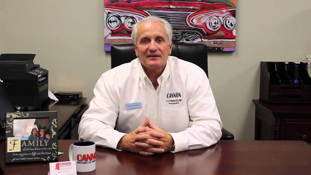 Nobody Beats A Cannon Deal >> Michael Joe Cannon Introducing Cannon Motors of Mississippi - YouTube