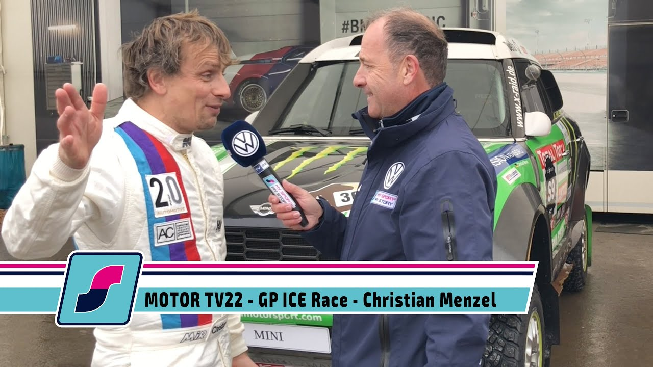 MOTOR TV22: GP ICE Race 2020 in Zell am See - Rennfahrer Christian Menzel im Interview