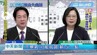 20190609中天新聞 韓花蓮造勢vs.英德大戰 直播人氣高下立見!