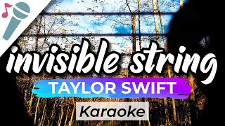 Gambar cover Taylor Swift – invisible string - Karaoke Instrumental (Acoustic)