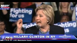 Hillary Clinton New York RALLY 3/31/16 Clinton yells at Protesters LIVE NY FULL