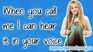 Hannah Montana - If We Were a Movie With Lyrics