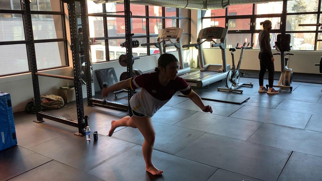 Exercise of the Week: Single Leg Pendulum Swing