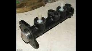 Как проверить главный тормозной цилиндр, не разбирая и не снимая. NISSAN Almera N16