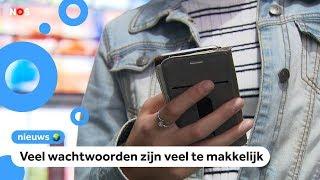 De populairste wachtwoorden: 123456, welkom en Feyenoord
