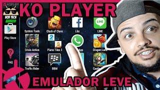 KO PLAYER EMULADOR DE ANDROID | O MELHOR EMULADOR DE ANDROID PARA PC | COMPUTADOR 2018 | BOB TECH |