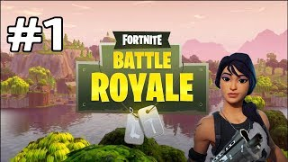 Fortnite battle royal l Episode 1 l I Shouldn't have won Battle Royal
