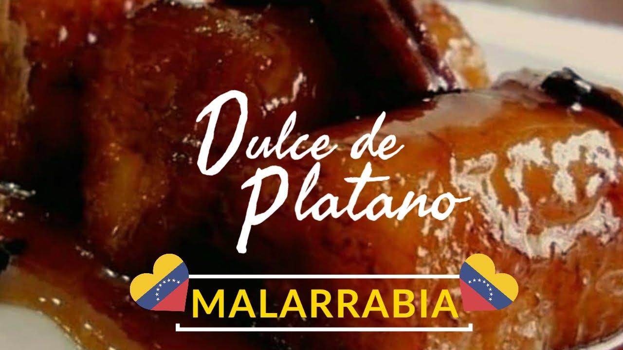 Como hacer Dulce de plátano Malarabia tradicional Venezolano para semana santa en 2 minutos