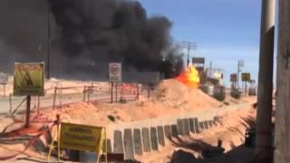 Explosión de cisterna Arequipa