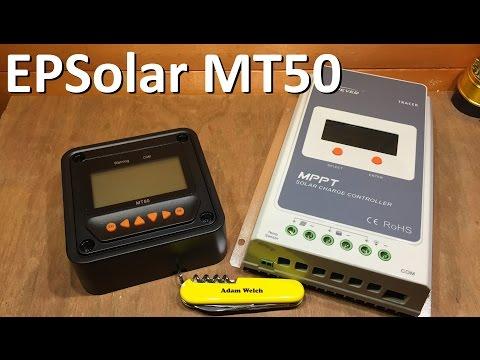 EPSolar MT50 Remote Meter - 12v Solar Shed
