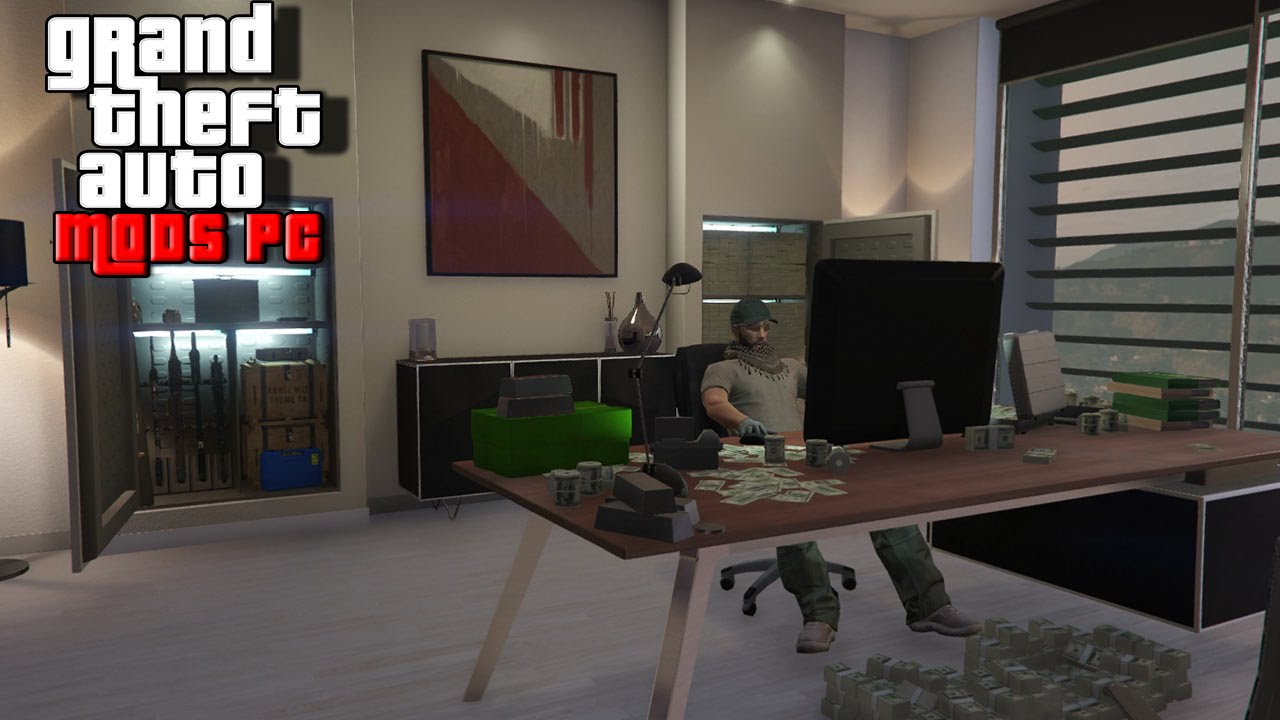 test les 4 nouveaux bureaux dlc haute finance gta 5 online youtube. Black Bedroom Furniture Sets. Home Design Ideas