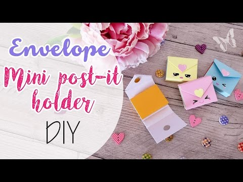 Envelope Post-it holder Kawaii - Buste porta mini Post-it
