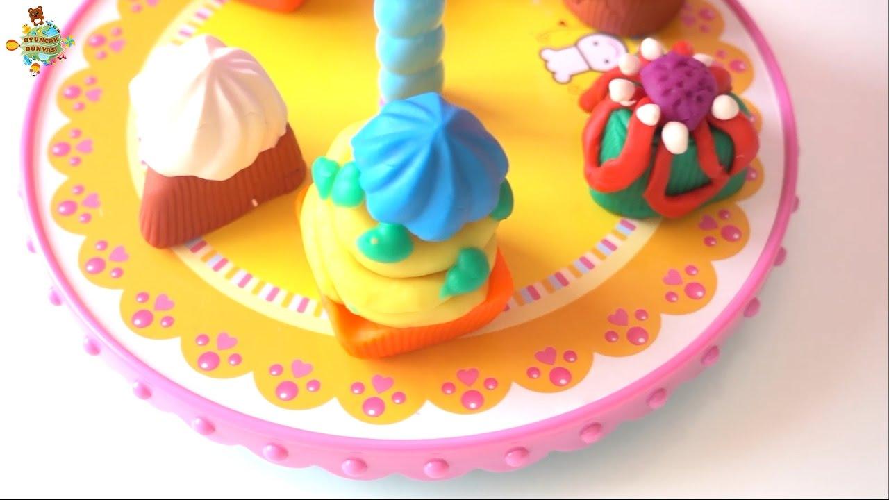 Oyuncak Dunyasi Lets Oyun Hamuru Pasta Atolyesiyle Renkli Kap