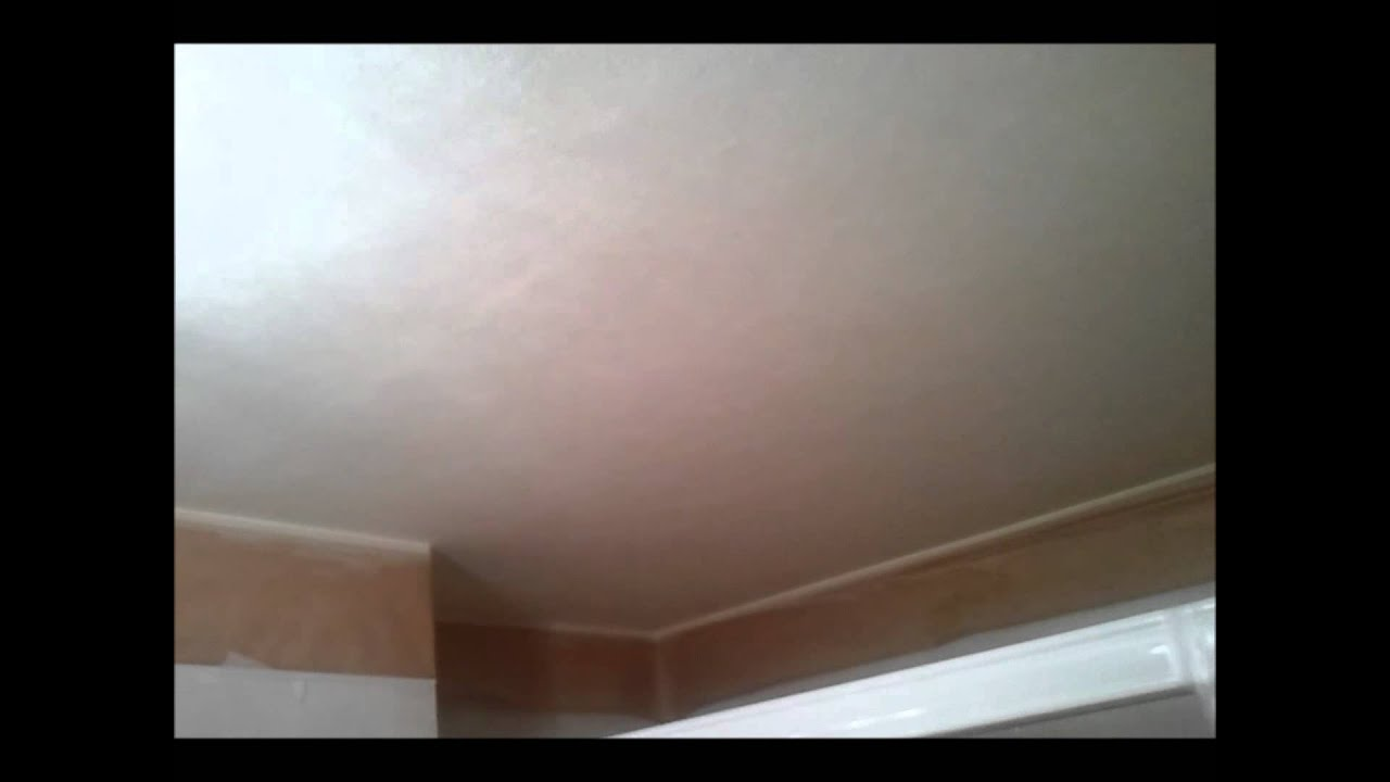 como arreglar desconchones y pompas en techos de wc - youtube