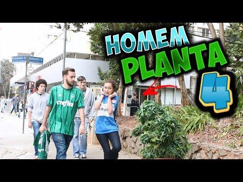 HOMEM PLANTA #4 | BUSHMAN PRANK - ASSUSTANDO A TORCIDA PALMEIRENSE