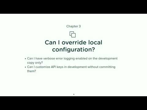 Configuration Management: theory and practice