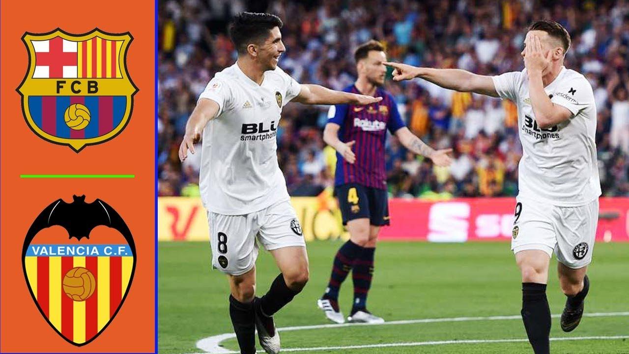 Download Barcelona vs Valencia 1-2 Resumen y Goles - Copa del Rey 2019