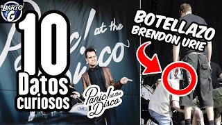 10 Curiosidades sobre... Panic at the Disco