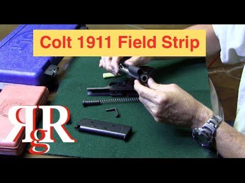 Colt Government Model 1911 Field Strip (1991 Series 80 ...