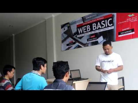 Video Pelatihan Pembuatan Website di Bekasi