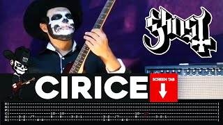 Ghost - Cirice (Guitar Cover by Masuka W/Tab)
