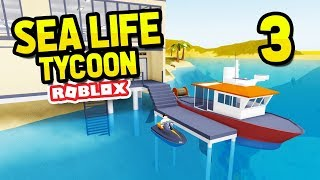 INSANE JET SKI AND BOAT - ROBLOX SEA LIFE TYCOON #3