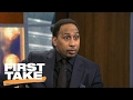 Stephen A. Smith Calls The DeMarcus Cousins Trade 'A Heist'   First Take