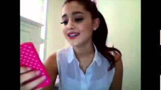 Ariana Grande Livestream 3-3-12 part 4
