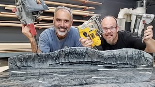 Start to Finish Countertop Build, All Nighter | Stone Coat