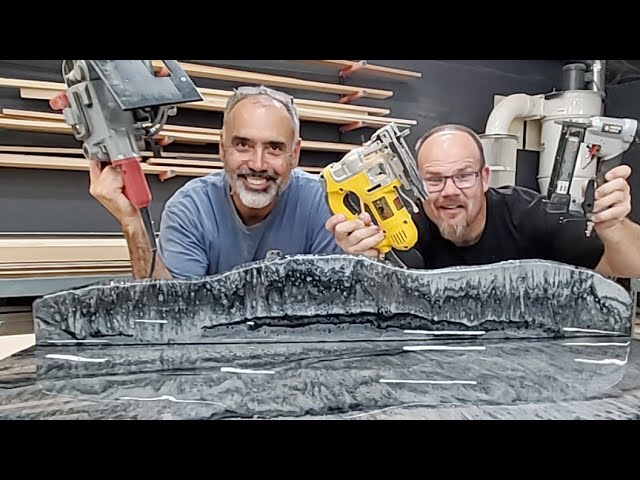 Start to Finish Countertop Build