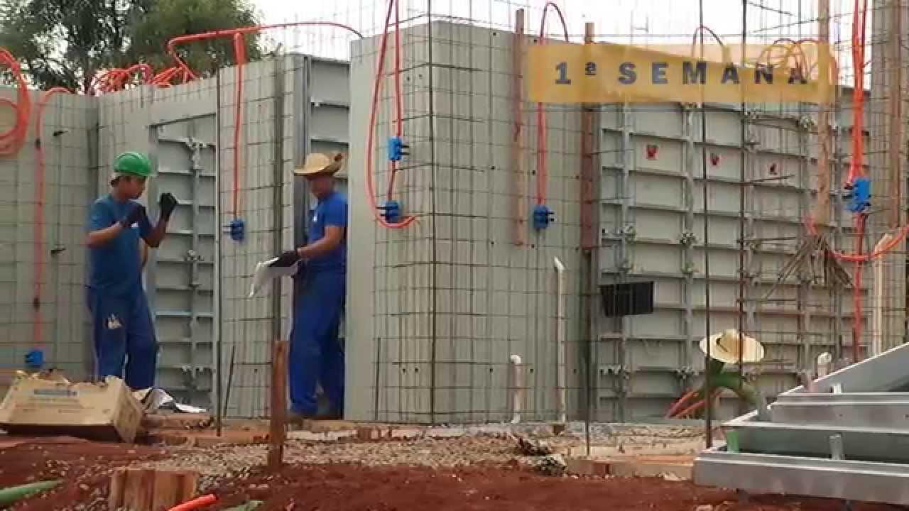 Paredes de concreto bel constru es youtube - Cemento decorativo para paredes ...