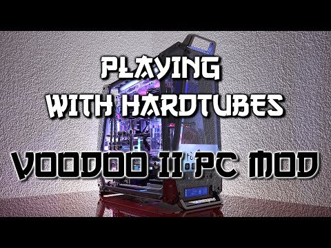 Extreme hardtube watercooling PC - In Win Tòu Voodoo II mod