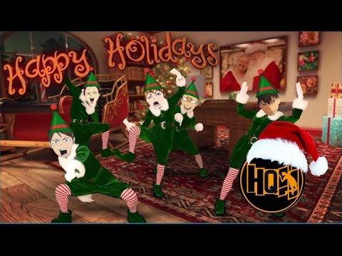 [Elf Yourself] Haikyuu!! On Christmas 🎄