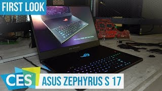 Asus ROG Zephyrus S GX701 First Look #CES2019