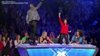 Repeat youtube video Tee  Somebody To Love   Auditions   The X Factor USA American 2014