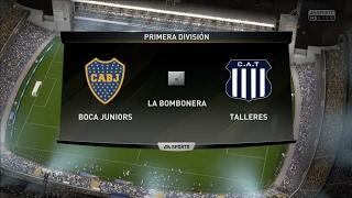 BOCA JUNIORS VS TALLERES | FIFA 17 PS4