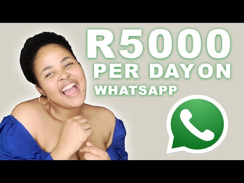 How to make more than R5000 on WhatsApp a month | Make Money in South Africa