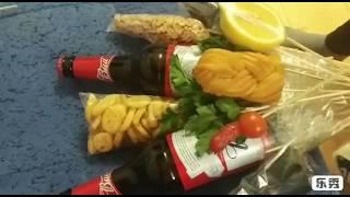 Мужской букет с алкоголем своими руками/Подарок на 23 февраля.