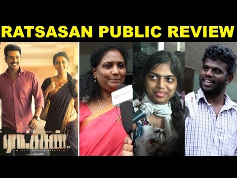 Ratsasan Public Review   #VishnuVishal #Amalapaul #RamKumar #Kollywood #kalakkalcinema