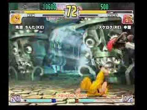 SFIII: 3S - Team [I KO Them or Noodles] vs Team [A-cho Love]