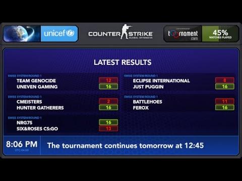 Team Genocide vs uNeveN Gaming Swiss Round 1