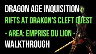 Dragon Age Inquisition Walkthrough Rifts At Drakon