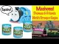 Thomas & Friends Mashems - World's Strongest Engine Toy Train Fun video