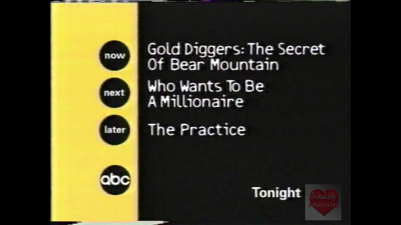 ABC | Bumper | 2001 | Tonight
