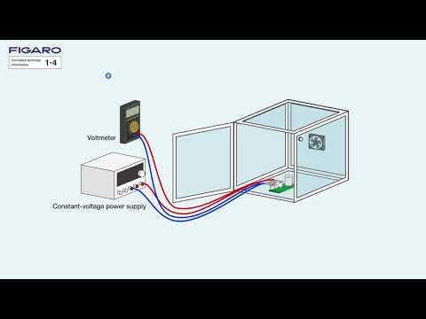 【FIGARO】How can gas sensor response be measured ?