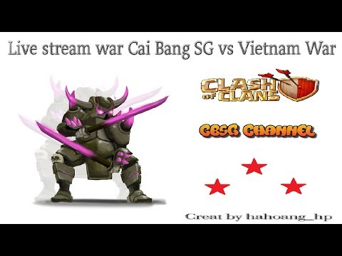 Livestream war Cai Bang SG vs Vietnam War | 40 vs 40 | | TH11 | #15